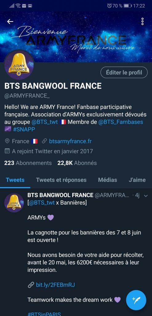 BTS Bangwool France