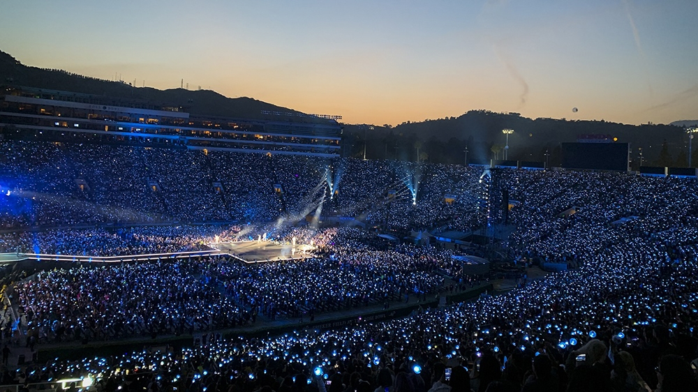 tournée Speak Yourself: Day 1 at Rose Bowl