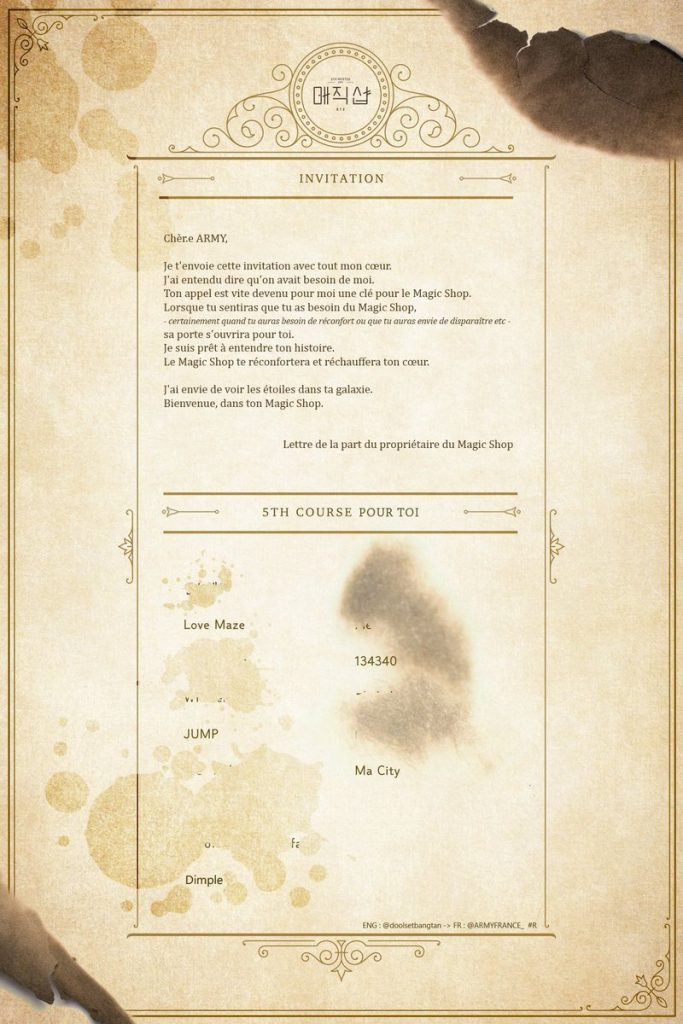 5th Muster - Invitation ARMY 2