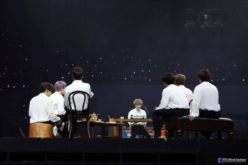 BTS MUSTER Tea Party