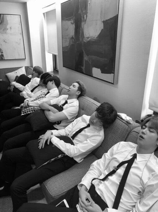 speak yourself BTS The late show with stephen Colbert beatle