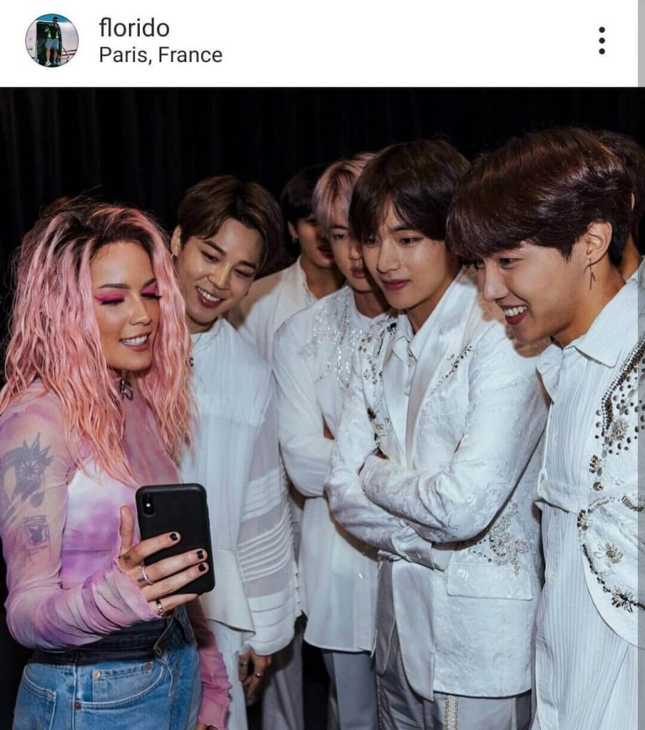speak yourself paris BTS
