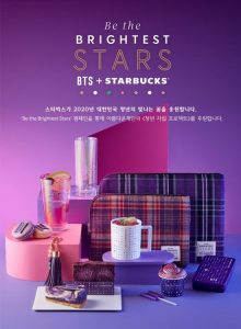collaboration BTS et Starbucks