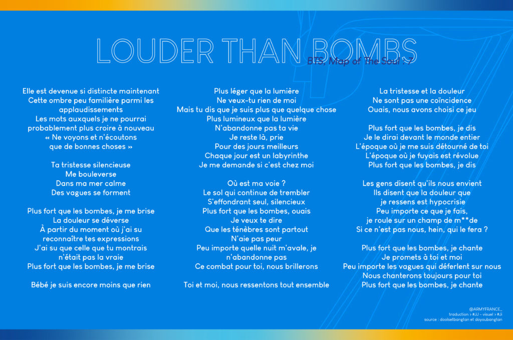 Louder Than Bombs traduction
