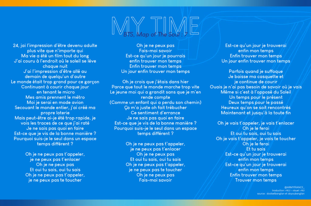 My Time Traduction