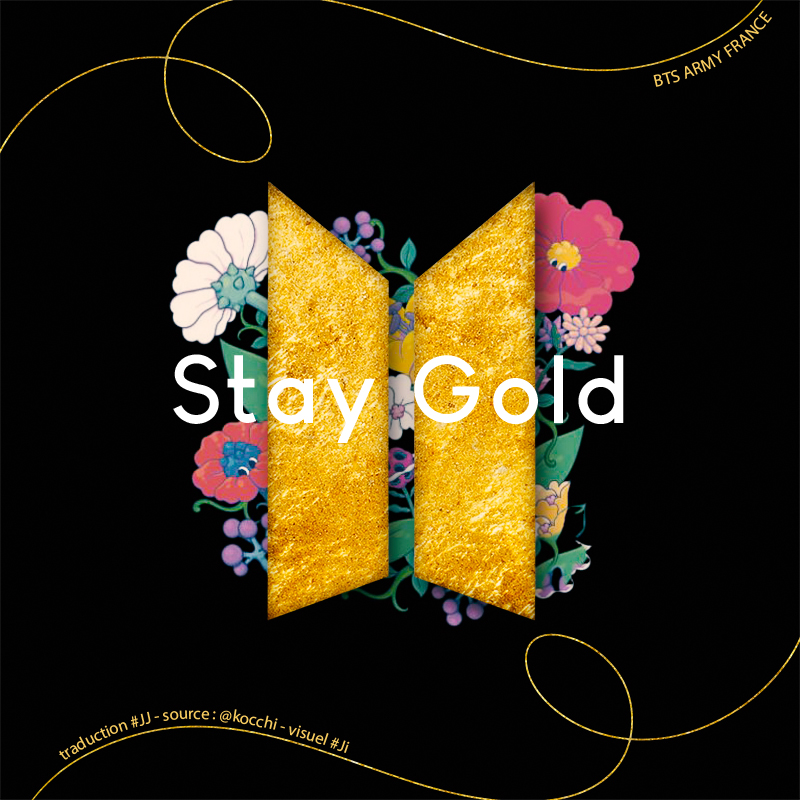 stay gold traduction 1