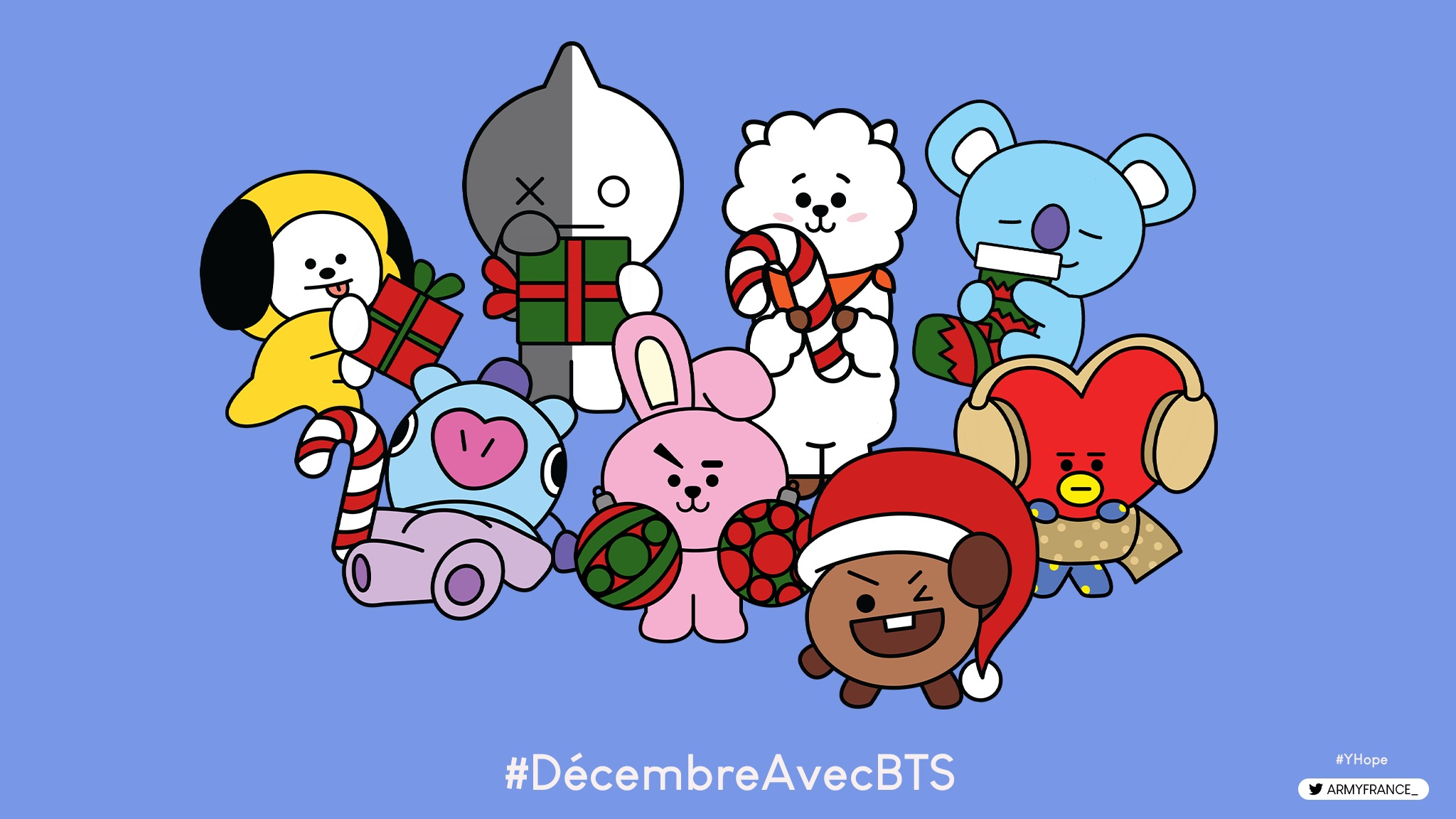 gabarits biscuits sablés bt21
